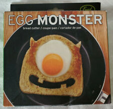 NEW Fred Egg Monster Bread Cutter Fried Egg Toast Breakfast Scary Good Kid Fun !