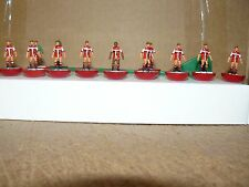 Coventry City 1981-83 lejos kit Subbuteo Top Spin Equipo