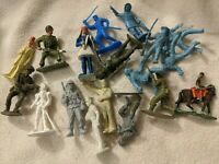 Vintage Plastic Miniature Figure Lot - Marx MPC Crescent Soldiers WWII Civil War