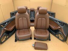 Audi A6 4G C7 RS6 S6 Lederausstattung Leder Sitze Leather elektrisch braun