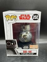 Funko Pop Star Wars #202 BB-9E DROID Chrome Box Lunch Exclusive