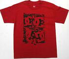 DC Boys T Shirt DC Trademark Skate 100 Cotton Red DC Shoes Brand DC