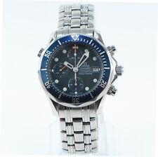 Omega Seamaster Bond Chronograph Blue Dial 2225.80.00 2225.80 41.5mm Automatic
