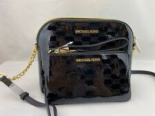 Michael Kors Cindy Dome Crossbody Shoulder Bag - Black
