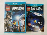 Lego Dimensions Game Disc Only For Wii U Game Only FREE FAST SHIPPING