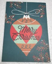 16 Pack Papyrus Christmas Holiday Greeting Cards Bulb 00006000  Ornament Eco Friendly