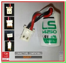 Batteria allarme SELECT SBT08 pila SAFT LS14250 x rilevatore apertura infissi