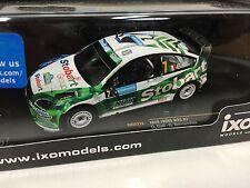 FORD FOCUS RS 07 WRC #7 Galli- Sweden 2008 IXO RALLY 1:43 DIECAST-CAR RAM316