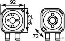 376778-041 SCAMBIATORE DI CALORE  VW PASSAT Variant (3B5) 1.9 TDI CV 110