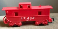 MARX 1977 A.T.&S.F. CABOOSE O Scale Model Train Railroad RR