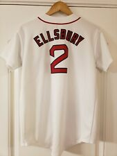 Boston Red Sox Majestic Youth XL Jacoby Ellsbury #2 Jersey