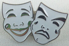 Stage Drama Two Masks Faces - UK Imported West End Theater Theatre Enamel Pin