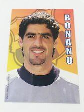 POSTAL TITO BONANO FC BARCELONA 2001-2002 FOOTBALL POSTCARD BARÇA ARGENTINA