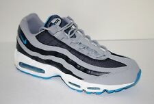 Nike Air Max 95 Retro Mens Sz 13 Leather/Mesh Running Shoes Grey/Obsidian/Wht