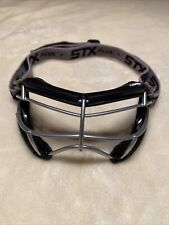 Stx 4Sight + S Women's Lacrosse Goggle in Black