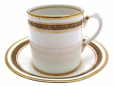 Royal Albert Greek Key Coffee Cup and Saucer
