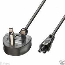 New! C5 UK Power Cable Cloverleaf For Compaq 7800 2m/6.5ft