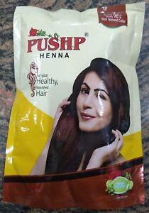 3X Pushp Henna Powder Natural Brown | Nourished Hair | Ammonia Free | 20 Gram