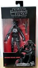 "Hasbro Star Wars Black Series 6"" inch Inferno Squad Agent Action Figure"