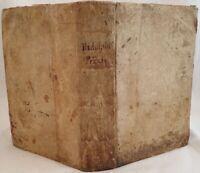 PIETRO RIDOLFINI DE ORDINE PROCEDENDI PRAXIS RECENTIOR 1659 DIRITTO PROCESSUALE
