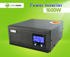 Inverter Charger 1600W (4800W) two way 12V <> 110V Solar, Boat, Motorhome RV