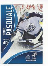 2012-13 St. John's IceCaps (AHL) Eddie Pasquale (goalie) (Syracuse Crunch)