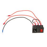 3D Printer Part 220V/110V 15A Power Outlet Socket Switch Fuse For 3D Printer