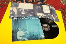 BLUE LU LP ROCK 'N' ROLL CLOWN ORIG ITALY 1986 NM ! FONE' RICCI LAMIANTED COVER