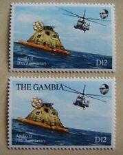 Gambia  Michel Nr.  994  mit + ohne Inschrift     postfrisch !  729