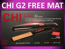 "CHI G2 SECOND GENERATION 1"" CERAMIC TITANIUM 425° HAIR STRAIGHTENER FLAT IRON"