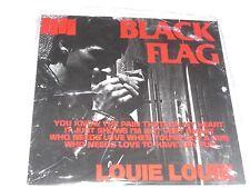 "BLACK FLAG 'LOUIE LOUIE' 7"" VINYL , NEW & SEALED"