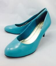Plus Size Wet look, Shiny Slim Heels for Women