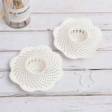 Drain Hair Stopper Cover Filter Sink Strainer PVC Bath Kitchen Shower Use