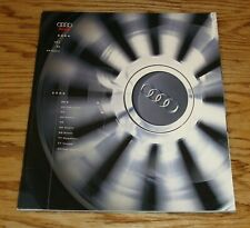 Original 2003 - 2004 Audi Full Line Deluxe Sales Brochure 03 04 TT RS 6 A8 L S4