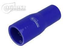 Tubo manicotto riduzione siliconico. 65 - 60 mm. blu