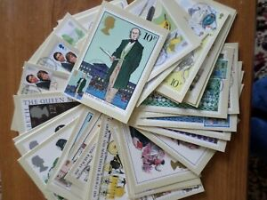 GB PHQ CARDS - COLLECTION - 11 SETS - 39 CARDS - FRONT FDI
