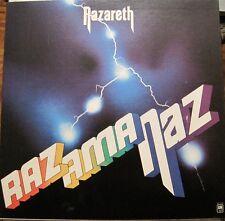 NAZARETH - Razamanaz - LP gf  CDN - Brit 70s Hard Rock oop rare L@@K