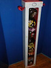 Nib Disney Jack Skellington Nightmare Before Christmas 6 Pc Ornament Set