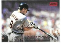 Cal Ripken Jr. 2018 Topps Stadium Club Red Foil #160 Baltimore Orioles Parallel