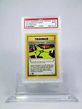 PSA 9 MINT 1st Edition Celadon City Gym Pokemon Gym Heroes #107/132