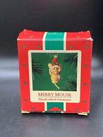 Hallmark Keepsake Ornament Merry Mouse Christmas 1985