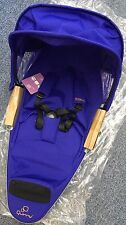 Quinny Zapp Xtra Seat Unit Purple Pace New no Recline adapters