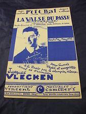 Partition P'tit bal La valse del passe V. Camilleri A. Romance J. Vlecken 1959
