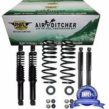 97-02 Ford Expedition 4WD Air to 2200LL Shocks & Coil Spring Conversion Kit x4