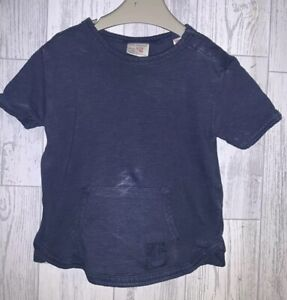 Boys Age 9-12 Months - Zara Blue T Shirt
