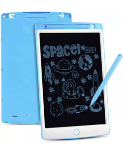LCD Writing Tablet, 10 Inch Electronic Drawing Board Graphic Tablets BLUE new