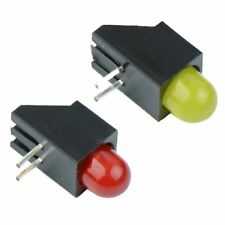 Red or Yellow 5mm PCB Right Angle Horizontal LEDs