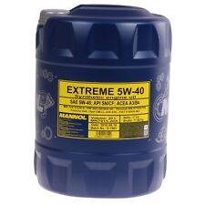 5W-40 Motoröl 20 Liter Mannol Öl 5W40 20L API SN CF ACEA A3/B4 MB 229.3 226.5