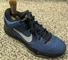 RARE EUC Nike Zoom Kobe 7 VII Men Size 9 Royal Blue Silver Black 517359-400