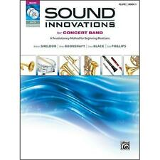 Alfred Sound Innovations for Concert Band Flute Book 1 With DVD Mp3